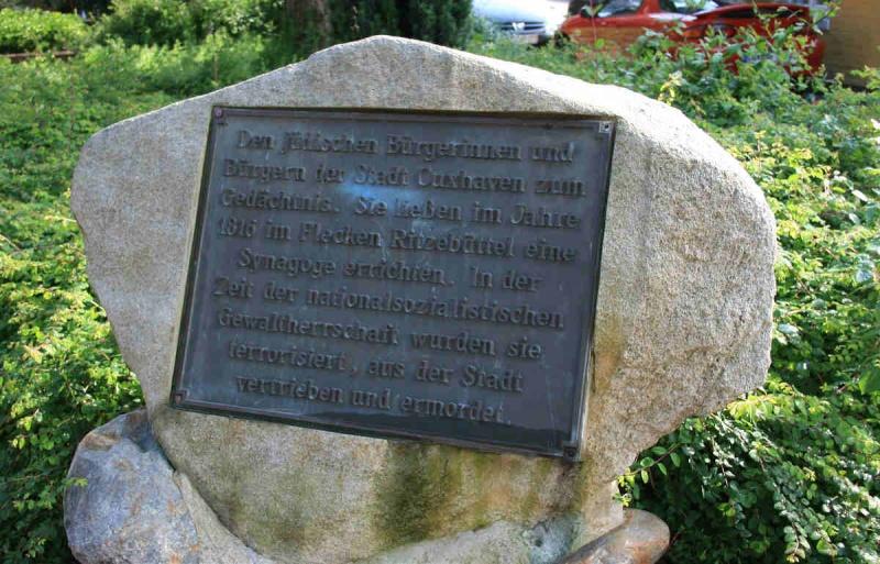 Datei:Gedenkstein Synagoge.jpg