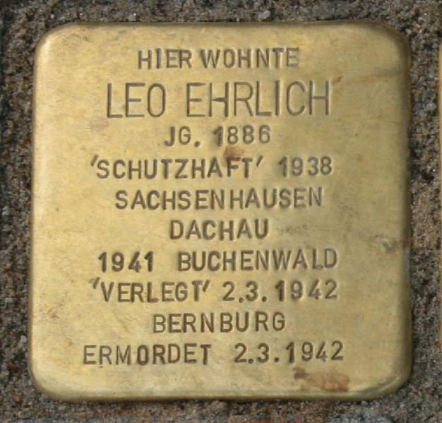 Datei:Stolperstein Ehrlich L 7725.jpg